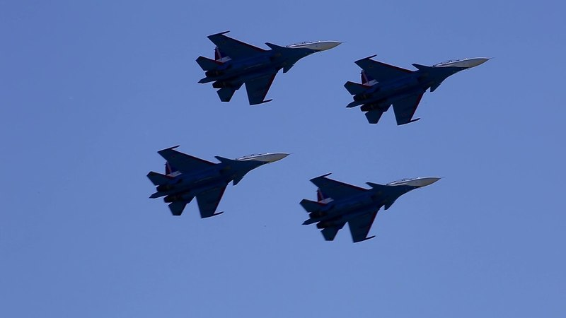 Russian air base - the anniversary of 80 YEARS \ 80 лет цпат