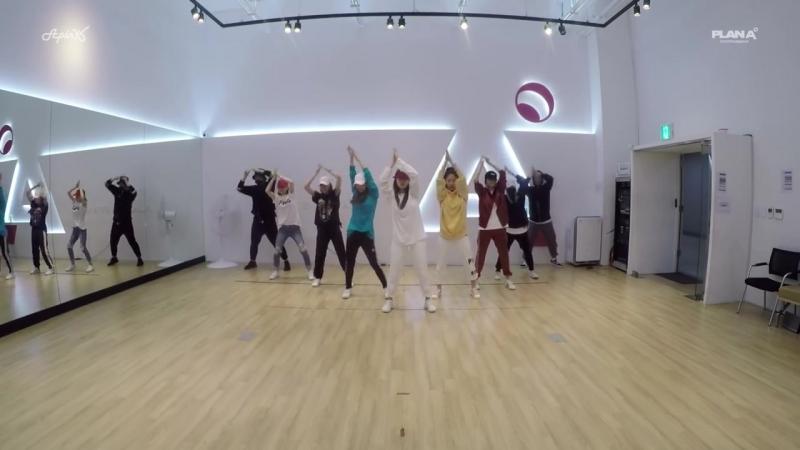 [DANCE PRACTICE] A Pink выпустили танцевальную практику на FIRE (BTS) и BANG BANG BANG (BIGBANG)