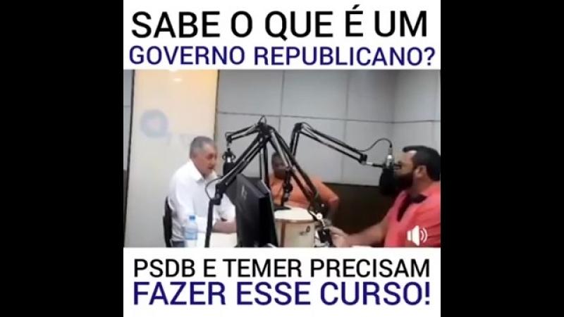 Prefeito ex PSDB elogia Dilma e PT!