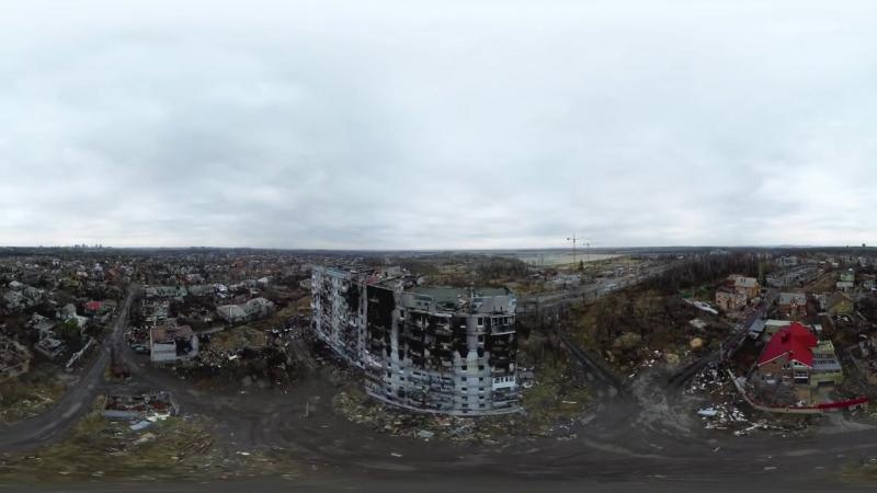 Разрушенный Донбасс в формате 360 градусов👉vk.com/donetskcity2