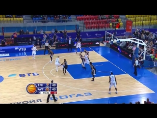 Баскетбол. Единая Лига ВТБ Енисей 83:88 Автодор