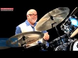 PETER ERSKINE Checking out his DW Jazz Drums
