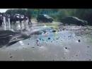 Порыв трубы на 33 километре Самотлорской а д
