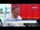 Первый специализированный мусоровоз начал свою работу в Амгинском районе