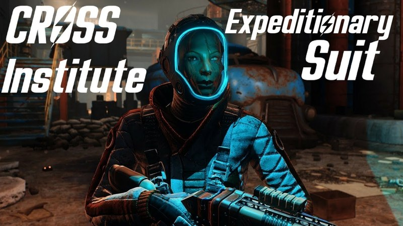 Fallout 4 - Cross Institute Expeditionary Suit Showcase -Location -New Armour - PC XBOX - By Niero