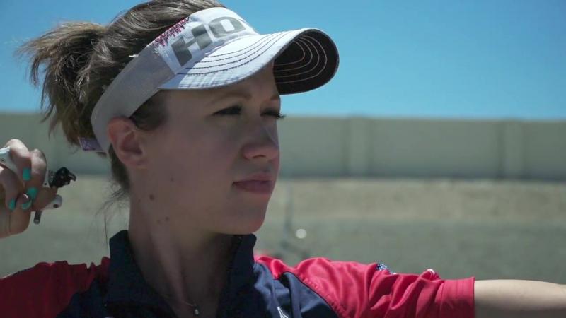 Archery in slow motion S01E03 BONUS- Erika Jones (Coach Cam)