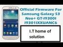 Samsung galaxy S3 Neo Gt 19300i Stuck on logo|Samsung Firmware