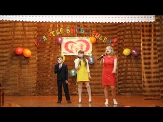 Ярослав, Вероника и Алена Стефанковы исполнили песню про бабушку с дедушкой