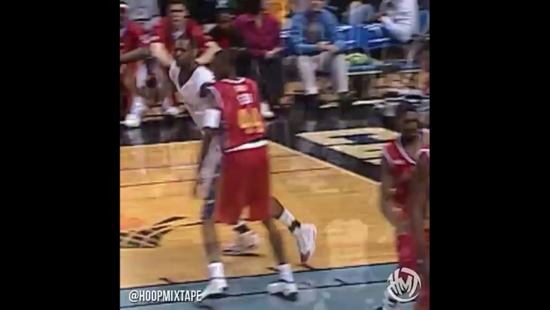 @kingjames dominating the McDonald's All American game