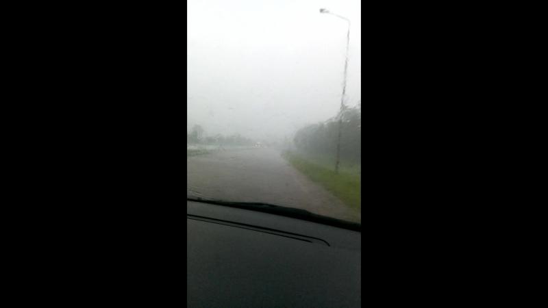 Дождь по дороге в курск.3gp