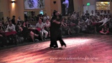Eduardo Cappussi, Mariana Flores en Soho Tango, milonga de Buenos Aires