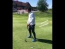 Легендарный гольфист