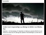 Iraker vergewaltigt Deutsche Frau im Keller- Ein Goldstück-