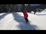 Snowboard Addiction| Buttering (Goofy) - How To Add Direction To Your Butters Goofy