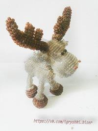 Собачка ''такса'', сплетенная из бисера:: игрушки и куклы.