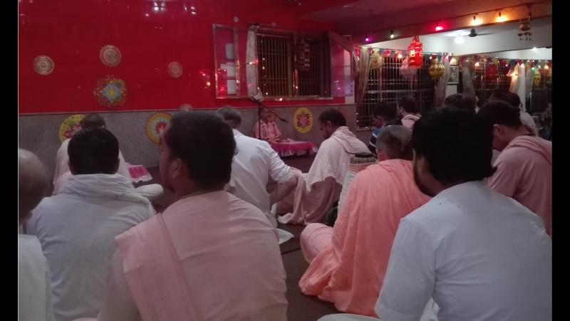 Васанта-панчами и Пундарика Видьянидхи. 14.02.2016, вечер.