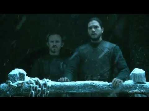 Игра престолов: Санса Старк приезжает в черный замок к Джону Сноу 6 сезон 4 серия