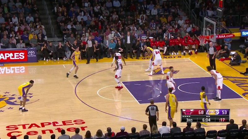 Los Angeles Lakers - Chicago Bulls 21.11.17 NBA