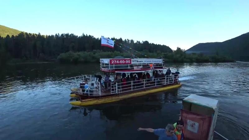 [Дмитрий Шилов] Сплав на плоту река Мана НАЧАЛО Mana River Rafting Part 1