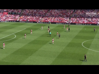 Чемпионат Англии 2017-2018 / 35-й тур / Арсенал (Лондон) – Вест Хэм (Лондон) / 1 тайм [720, HD]