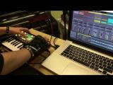 AUDIOPANIC rehearsal, live samples drum'n'bass