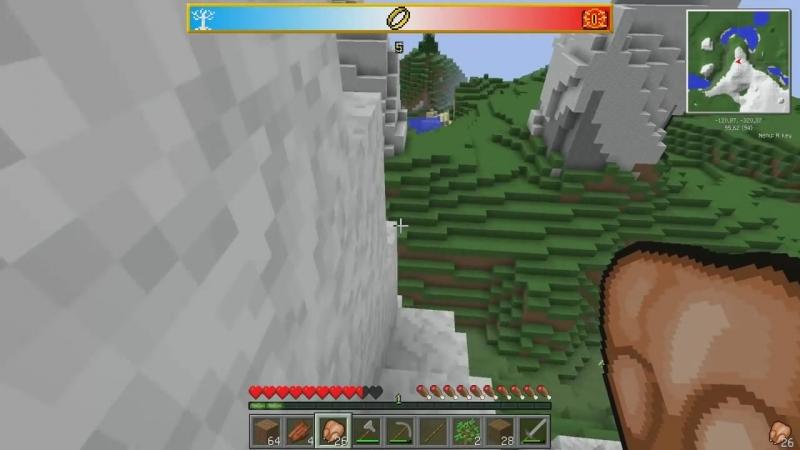 [SuperEvgexa] Minecraft Властелин Колец 1 - Мир средиземья