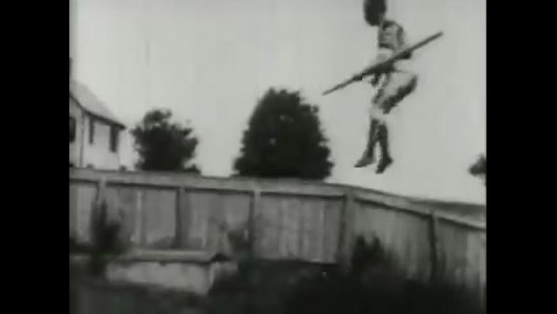 Claudia Caicedo на сильно натянутом канате, Edison Film 1894 год.