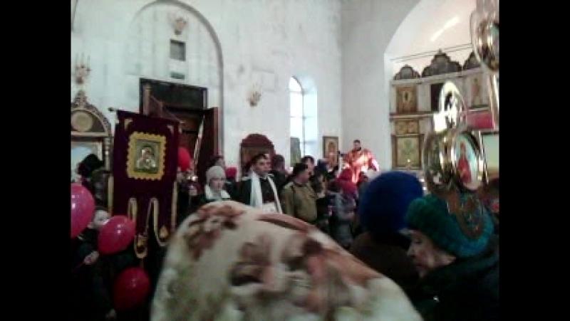 ПАСХАЛЬНАЯ СЛУЖБА - 2018 В КНЯЗЕ ВЛАДИМИРСКОМ ХРАМЕ г.АСБЕСТ
