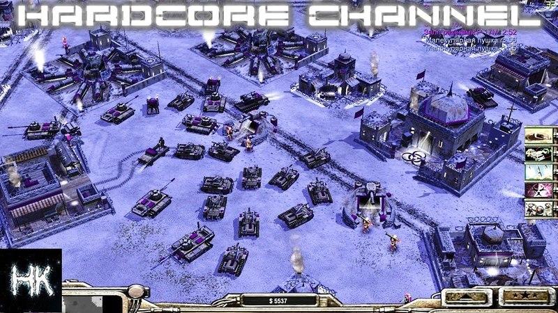 Command Conquer Generals: Zero Hour - FFA - AI Mod - Шоковая терапия