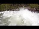 Прохождение ступени БМП (вид с воды)
