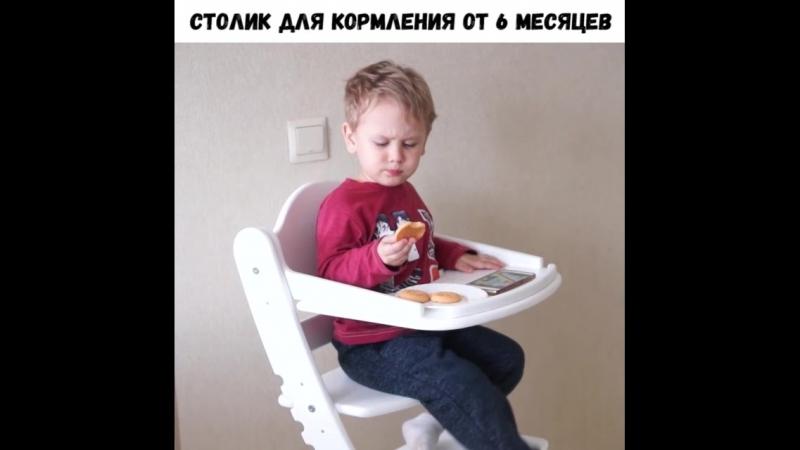 Обзор детского стульчика марки Два Кота