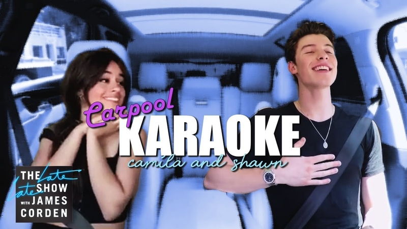Shawn Mendes Camila Cabello Carpool Karaoke