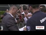 Криштиану Роналду прибыл на прохождение медосмотра в Юве