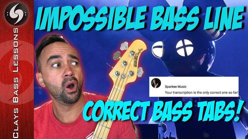 IMPOSSIBLE BASS LINE - Sparkee Approved 100% ACCURATE TABS