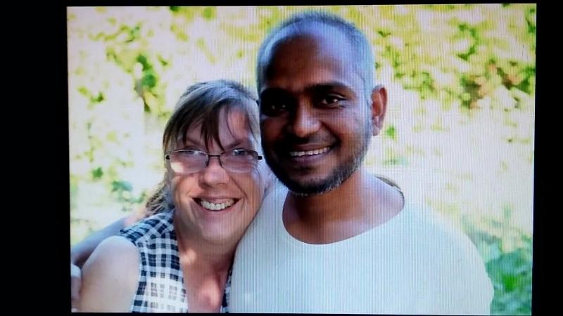 """Hiddenhausen - Abgelehnter Asylant Ouadud Abdul (43) hat mit Angelika Rieke (57) im Sprachkurs sein """"Glück"""" gefunden"""