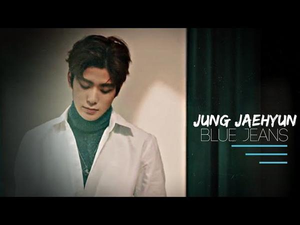 Jaehyun — blue jeans (fmv) tysm for 4k