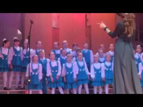 Отчетный концерт хора камертон Песня 7 веселых нот