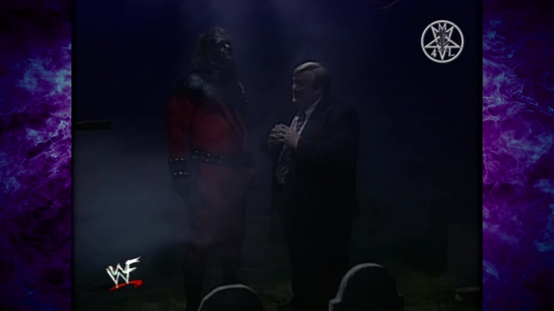 The Undertaker In Ring Interview Kane 04.06.1998