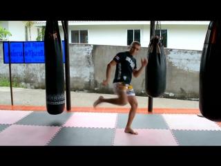 5 как бьют лоу кик в таиланде! основные моменты!