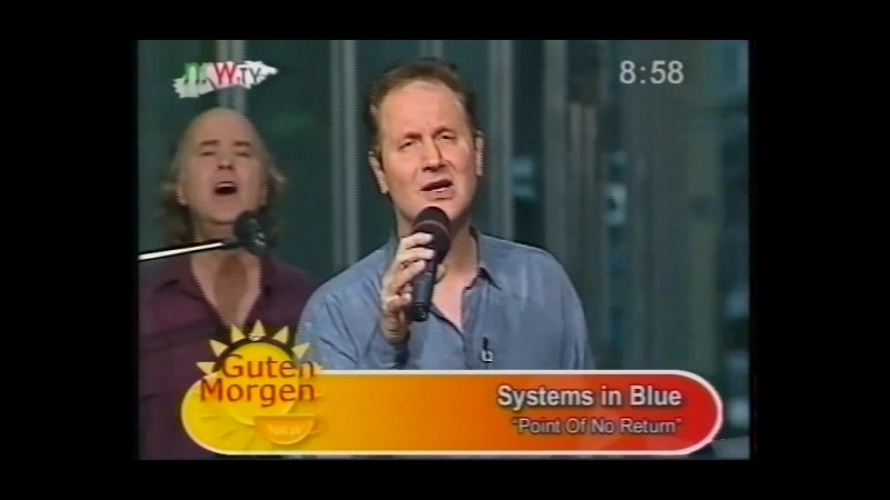 Systems in Blue - Point of No Return interview [live at Guten Morgen studio]
