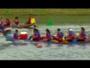 Фестиваль в Тайване на лодках драконах гонка на 1 640 футов вниз по реке Кейлонг