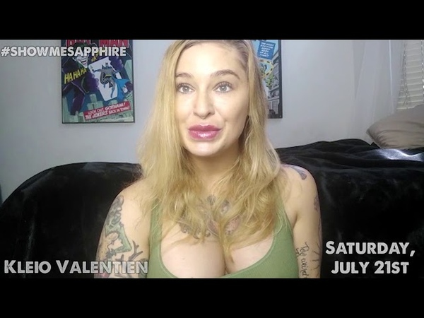 Kleio Valentien will take to the stage at Sapphire Las Vegas Saturday July 21st