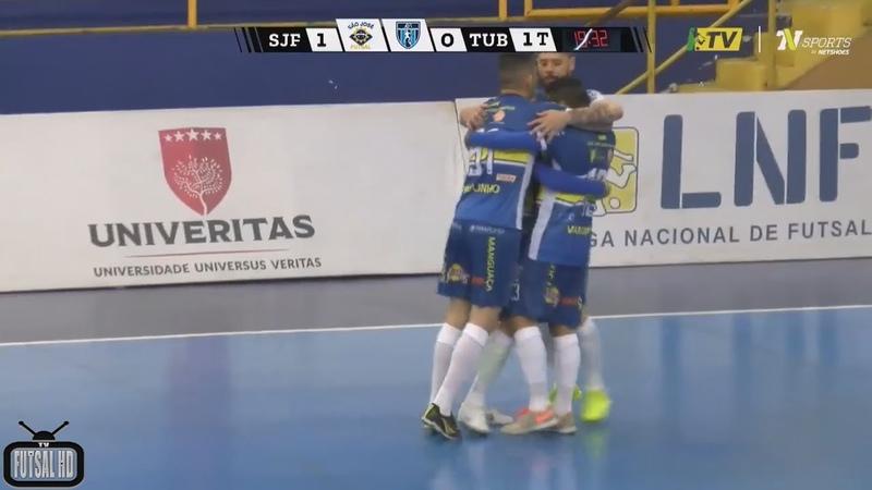 Jogo Completo São José x Tubarão - 14ª Semana Liga Nacional de Futsal 2018 (03/08/2018)
