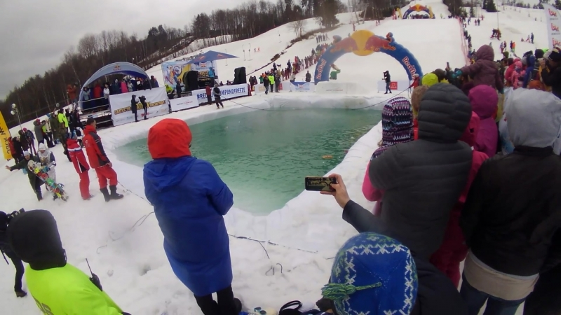 Red Bull Jump and freeze 2018 - Русалка