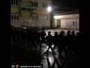 Вечерняя прогулка в армии.
