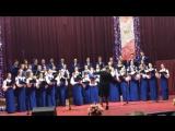 Народная хоровая капелла БГУ - Нова радiсть стала