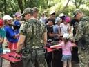 Волгоградские кадеты познакомились с работой спецподразделения Гром
