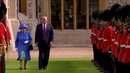 Королева приняла президента Трампа