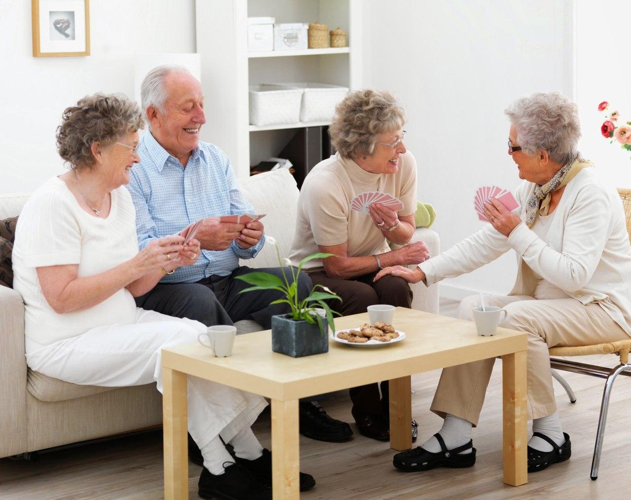 Услуги частного пансиона для престарелых