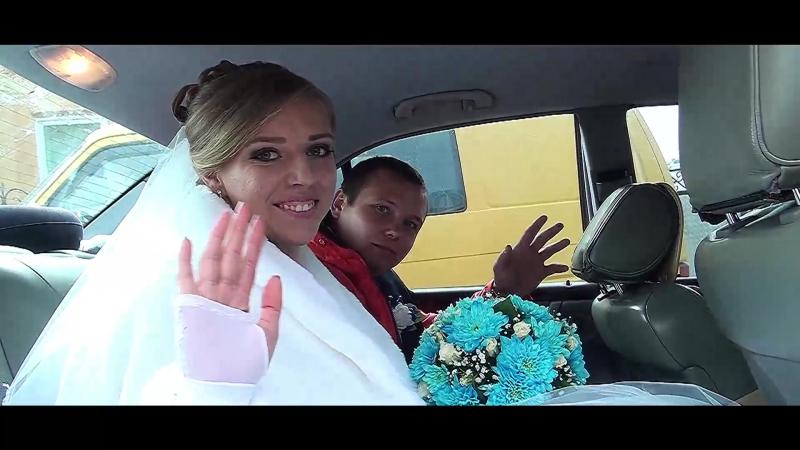 7-весільний кліп) коротка версія фільму-весілля в Бурштині Богдан та Галя 14 10 2017Р